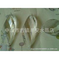 销售水晶灯饰挂件纽叶,灯饰玻璃挂件