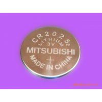 原装进口Mitsubishi三菱CR2025一次性纽扣电池