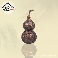 蜗牛居 纯铜葫芦风水摆件 红铜 家居饰品招财葫芦摆设工艺品加工