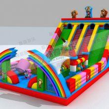【新款米奇充气滑梯】10*6儿童迪士尼城堡/红色米奇充气滑梯