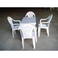 供应淄博塑料桌椅 高青县塑料桌椅批发采购