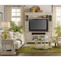 外贸实木家具 |宜美仓外贸家具美式实木yy802-21仿古白电视柜