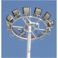 15m广场高杆灯生产厂家 25米自动升降式高杆灯爬梯高杆灯