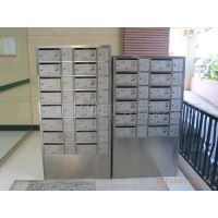 不锈钢信报箱 奶箱 信箱