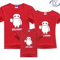 广州服装烫画情侣装亲子T恤印花Big Hero超能陆战队大白烫画图案