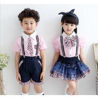 直销新款幼儿园校服、少儿演出服、民族表演服厂家直销价格低廉