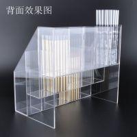 供应厂家直销爱圣儿有机玻璃展示架透明亚克力产品陈列架厂家