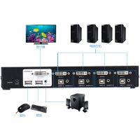 迈拓维矩4口企业型HDMI-KVM高清切换器