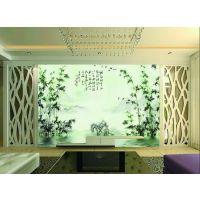 供应中国风水墨风景大型壁画墙布电视客厅背景墙纸墙布山水情壁纸定制