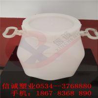2.5升带防盗盖PE塑料桶,2.5公斤闭口方桶,食品级塑料壶