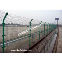 双边丝护栏网 道路隔离栏 浸塑双边丝护栏