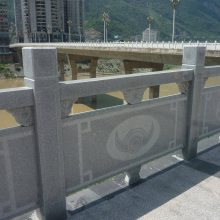 山东石雕栏杆厂家 公园景区石栏杆 石材防护栏