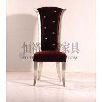 欧式椅子 布艺餐椅 新古典家具 酒店家具 餐厅餐椅 餐厅椅子