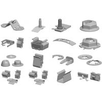 Tinnerman夹子,喉箍,弹性卡片,螺母,螺丝 - 中国区代理商