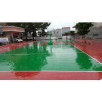 天津丙烯酸篮球场建设_丙烯酸材料铺装