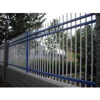 供应甘肃武威厂区三横梁无花围墙栏杆 围墙护栏 方管围栏