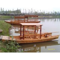 5m木质乌篷船 湖面手划船 农用乌蓬船 景区观光木船 田园钓鱼船