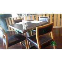 深圳厂家供应餐厅桌椅 东莞肯德基板式餐桌椅定做 运达来家具