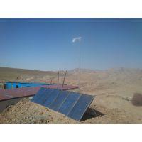 兰州程浩供应:景泰红水工程 1000W风光互补发电系统,