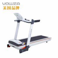 美国YOWZA优沃C600家用电动静音折叠跑步机