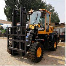 四轮驱动叉车3T四驱叉车生产厂家安全可靠SZ中首重工