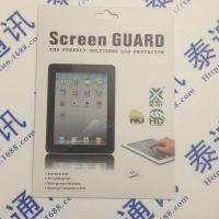 精准 IPAD AIR高清防刮贴膜 苹果平板电脑ipad5保护贴膜 OEM定制