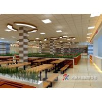 郑州职工餐厅装修,郑州职工食堂装修,郑州企业员工餐厅装修设计