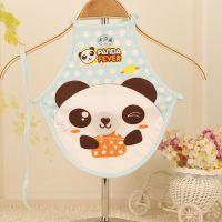 厂家供应2015新款小熊卡通宝宝围兜 系带儿童造型肚兜 厂家批发