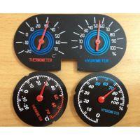 供应低价的指针式机械双金属温度计表湿度计表机芯
