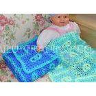 Softer Green Handmade Crochet Blankets Baby Boy Crochet Blue Baby Blanket