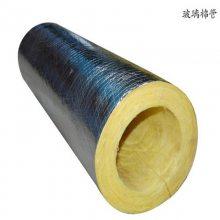 玻璃棉管呈现黄色的管状产品