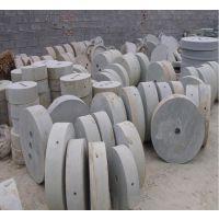 单项电小型豆浆豆腐石磨 原生态砂岩石电动石磨 鼎信厂家报价