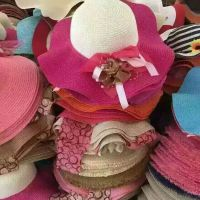 厂家直销旅游帽子 跑江湖地摊新产品 ***新款夏凉帽 帽子夏季草帽