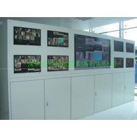 深圳厂家直销广东云浮9+1监控电视墙柜适用于酒吧闭路电脑系统墙