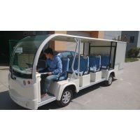 锡牛四轮电动观光车带货箱 11座观光款货物运输电瓶车 定做改装专业厂家