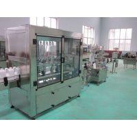 液体药品灌装机 直线液体定量灌装机 品质机械