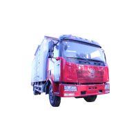 一汽解放j6国五领航版6.8米厢式货车
