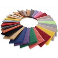 苏州海卓聚酯纤维吸音板厂家 优质阻燃板现货 颜色可挑