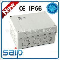 带预留孔接线盒 10路汇流盒 防水塑料配线盒 100A大电流接线盒