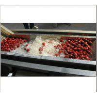 厂家直销华邦HB-800型大枣清洗机/西红柿清洗机