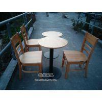 供应卢湾星巴克实木桌椅(上海咖啡厅桌椅厂家)