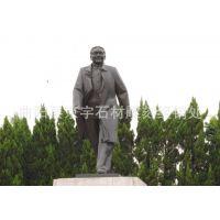 厂家直销 铜雕人物雕塑 邓小平 毛主席 站像半身像 伟人铜像