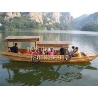 湖北木船电动高低蓬木船景区观光船中式船旅游客船