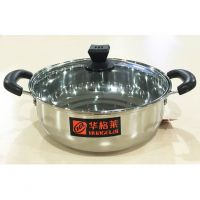 火锅专用加厚不锈钢锅涮锅家庭餐厅必备锅具电气两用