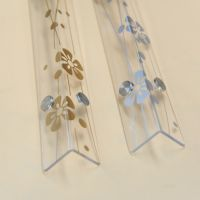 五叶草系列 透明 纯白亚克力墙角护角 保护条