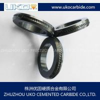 Tungsten carbide rolls for processing reinforcing steel wires and bars
