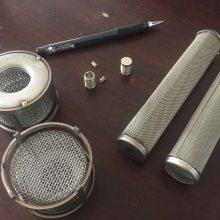 迈特316不锈钢网10目-500目过滤网 滤筒 包边滤网 球形滤网 滤片 滤芯