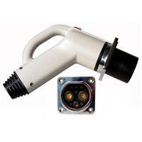 供国标9芯电动汽车传导式充电插口 润联电动汽车直流充电接口