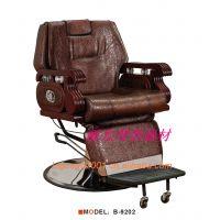 热销丽光美容美发用品男士理发椅、剪发椅、美发椅、理容椅B-9202
