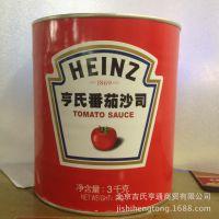 手抓饼原料批发 亨氏番茄沙司 3KG装 番茄酱 烘焙原料 大沙司